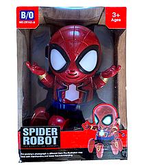 """Танцующий интерактивный робот с музыкой и огнями """"Spider robot"""" №ZR142-6"""