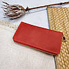 Кожаное портмоне на молнии, клатч мужской, женский, фото 4