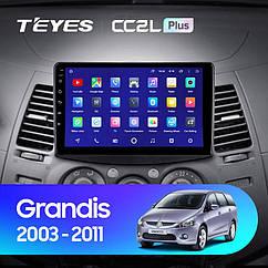 Штатная магнитола Mitsubishi Grandis (2003-2011) Android