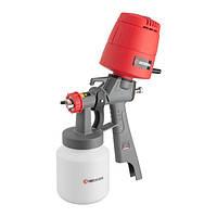 Краскопульт электрический HVLP 450 Вт., форсунка 1.5 мм, бачок 1л., 100-200 мл/мин INTERTOOL DT-5045