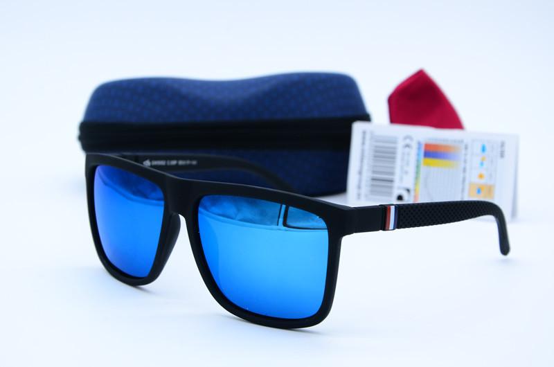 Сонцезахисні окуляри чоловічі Клабер 5052 сині