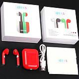 Бездротові навушники TWS i20xs, Bluetooth 5.0 Блютуз гарнітура, сенсорні блютуз навушники, фото 4
