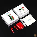 Бездротові навушники TWS i20xs, Bluetooth 5.0 Блютуз гарнітура, сенсорні блютуз навушники, фото 9