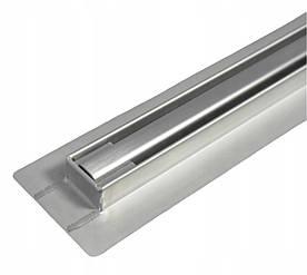 Трап для душа BW Tech Slim 110 см нержавейка поворотный выход  (RSK011200)
