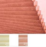 Жалюзи плиссе, шторы плиссе Дуэт Лайт К-3 Эко цвета в ассортименте