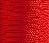 Паракорд красный. Paracord orange red