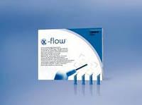 X-Flow™, текучий рентгеноконтрастный композит, Компьюлы по 0,25г - оттенки: А2, А3, А4, В1, С2, TL (прозрачный