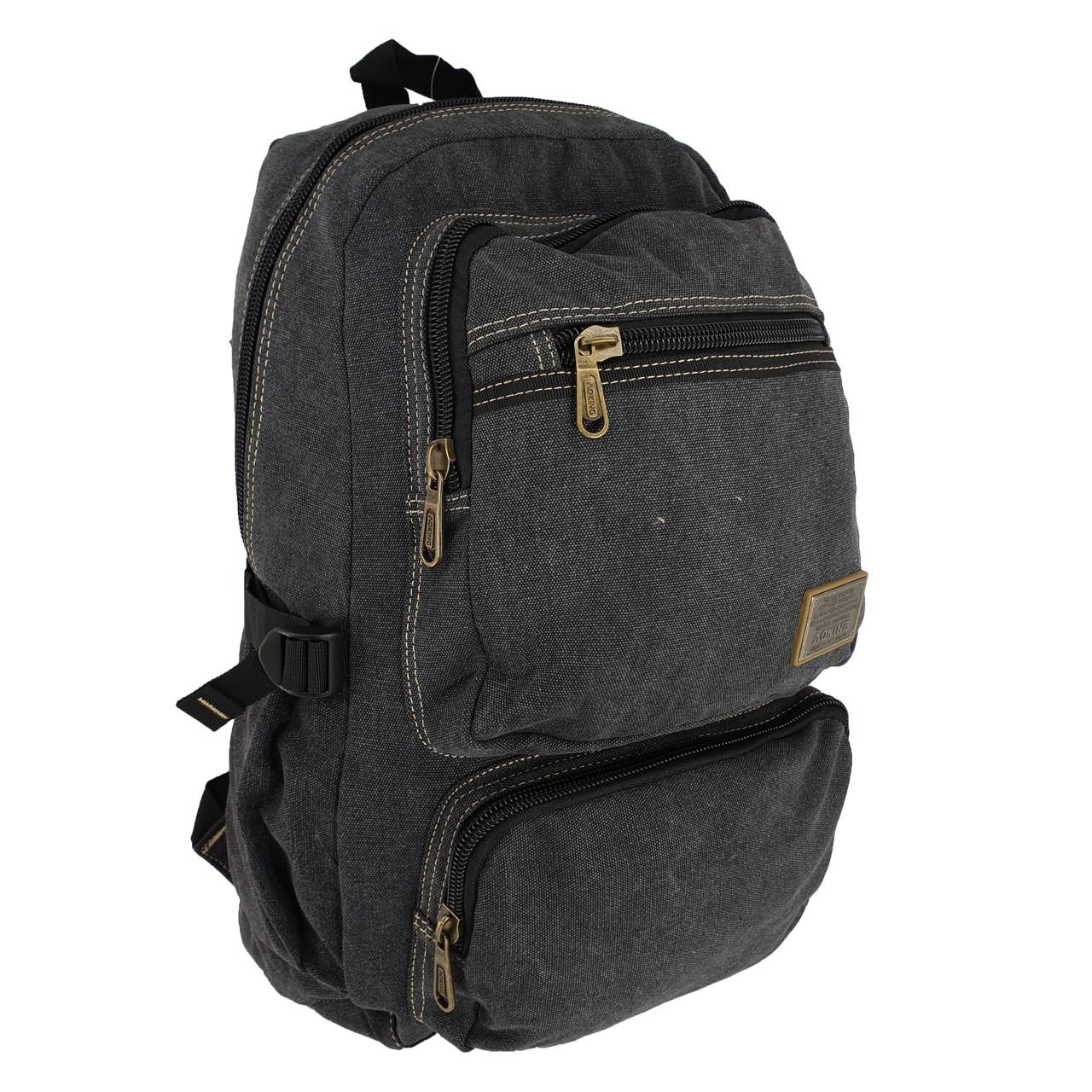 Брезентовый(джинсовый) большой рюкзак Aoking 35л