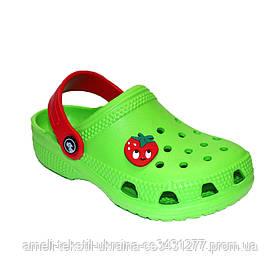 Сабо детские Jose Amorales 116132 22 Зеленый