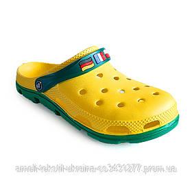 Сабо мужские Jose Amorales 116313 43 Желтый