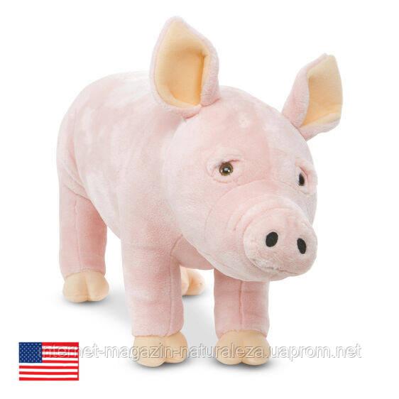 Мягкая игрушка Свинка Melissa&Doug