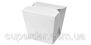 Упаковка для локшини/рису/салату на 750 мл/ 500 г, біла