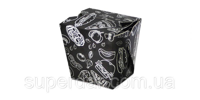 Упаковка для лапши/риса/салата на 750 мл/ 500 г, Мел