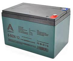 Тягова акумуляторна батарея AGM AZBIST 6-DZM-12, 12V 12Ah  M5 (151х98х101 мм)   Green Q4