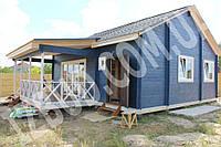 Теплый дом из двойного бруса