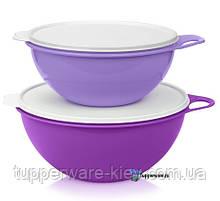 Набор Мисок чаш замесочных блюд Милиан 4.5/7.5 литров 2 шт в сиреневом цвете Tupperware
