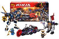 "Конструктор ""NINJAGO"" ""Киллоу против Самурая X"" 565 дет. 10805 (аналог Lego Ninjago 70642)"
