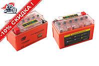 АКБ   12V 7А   гелевый   (150x85x95, оранжевый, с индикатором заряда)   OUTDO