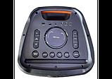 Велика колонка акумуляторна з 2 мікрофонами ZXX-5510, фото 6