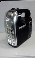 Радио с фонарем NNS NS-095 USB SD аккумулятор фонарь, фото 1