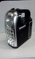 Радіо з ліхтарем NNS NS-095 USB SD акумулятор ліхтар, фото 1