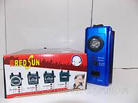 Радио с удобным фонариком RS-502 USB SD аккумулятор фонарь