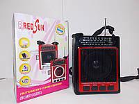 Радіо переносний USB, RS-083 акумулятор,USB,SD,ручна настроювання радіо