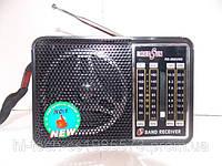 Радио колонка RS-202 FM/AM USB SD ручная настройка радио аккумулятор