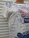 Жіноча футболка рванка L/XL Бабки, фото 3