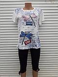 Жіноча футболка рванка L/XL Бабки, фото 5