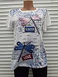 Жіноча футболка рванка L/XL Бабки, фото 8
