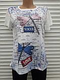 Жіноча футболка рванка L/XL Бабки, фото 9