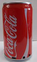 Колонка у вигляді банки з під Соса-Cola підключається до телефону комп'ютера, фото 1