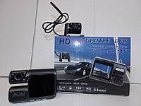 Видеорегистратор с двумя камерами Р 1000