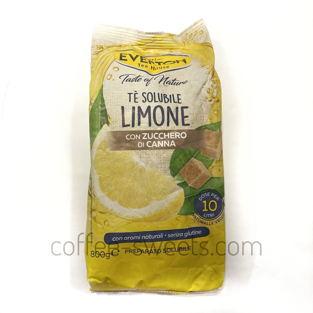 Чай гранулированный Everton со вкусом лимона и мяты 800г