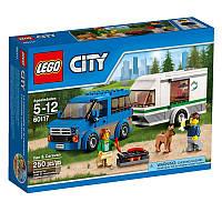 Lego City Фургон и дом на колёсах 60117