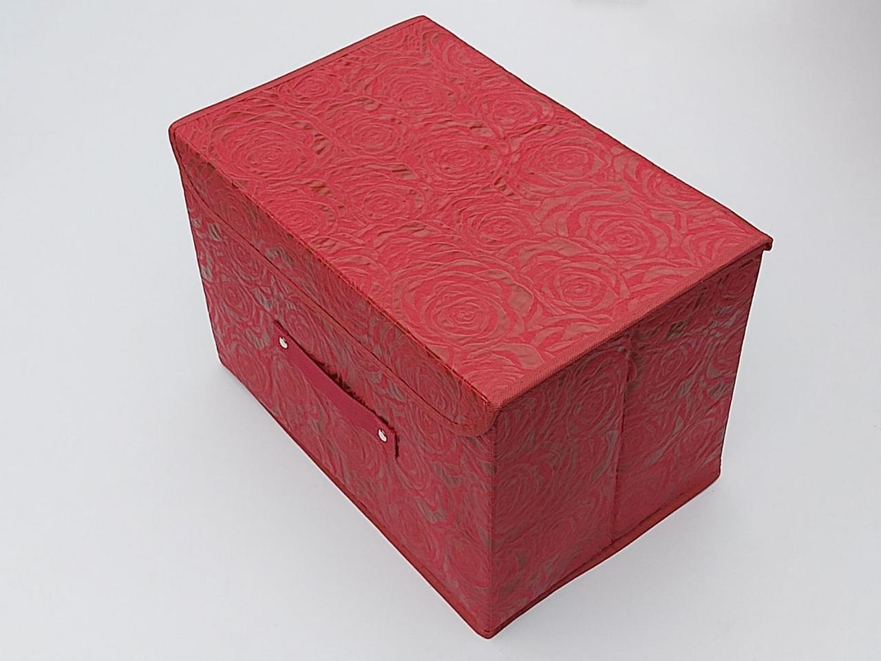 Коробка для зберігання Троянда червоного кольору