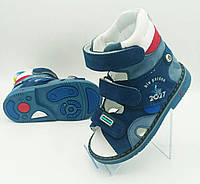 Ортопедичні босоніжки з високими задниками для хлопчика ВЕВЕТОМ 21-25 розміри, фото 1