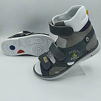 Ортопедичні босоніжки Веветом для хлопчика, фото 1