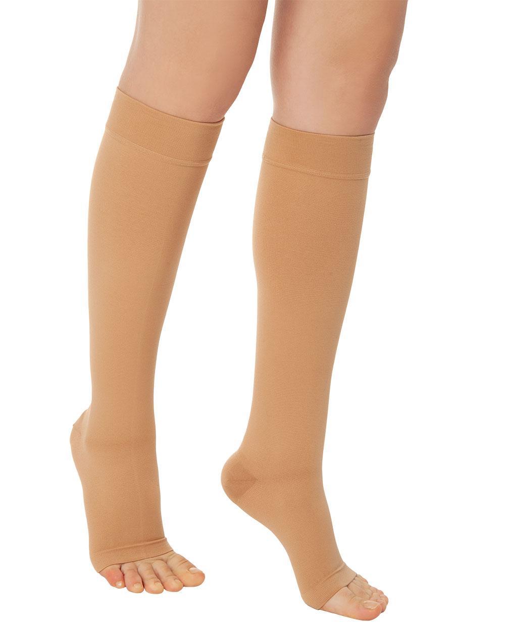 Панчохи антиварикозні 3 класу компресії Variteks до колін з відкритим носком