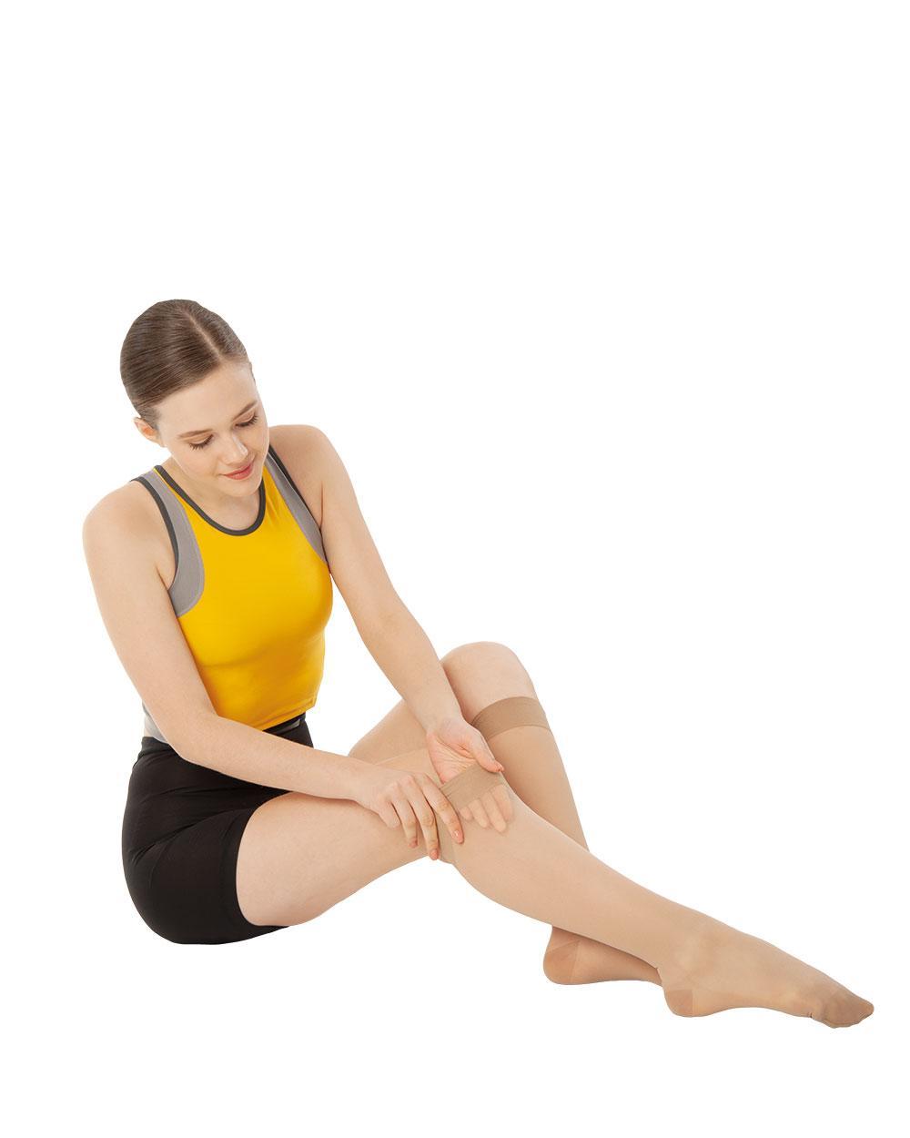 Панчохи антиварикозні 1 класу компресії Variteks короткі, до колін із закритим носком