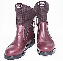 Ортопедичні зимові черевики червоні
