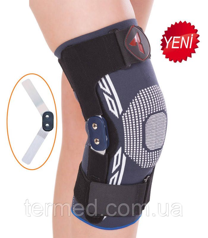 Бандаж на коліно трикотажний шарнірний, Variteks, код 454