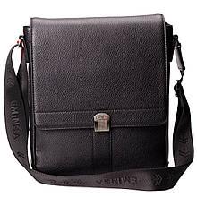 Мужская сумка Eminsa 6228-18-1 кожаная черная