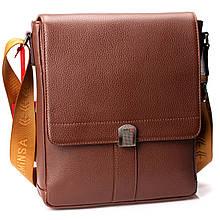 Мужская сумка Eminsa 6228-18-4 кожаная коричневая