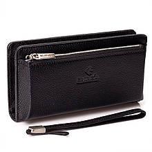 Мужской кошелек клатч Eminsa 5121-18-1 кожаный черный
