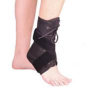 Бандаж для гомілковостопного суглоба зі шнуровкою Variteks