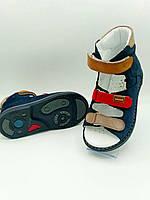 Ортопедичні лікувально-профілактичні босоніжки для хлопчика з високим задніком ВЕВЕТОМ 26-30 розміри