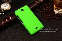 Пластиковый чехол для Microsoft Lumia 430 зеленый