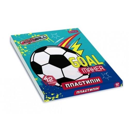 Пластилін 12 кол 540548 Team football 1ВЕРЕСНЯ (1/44)